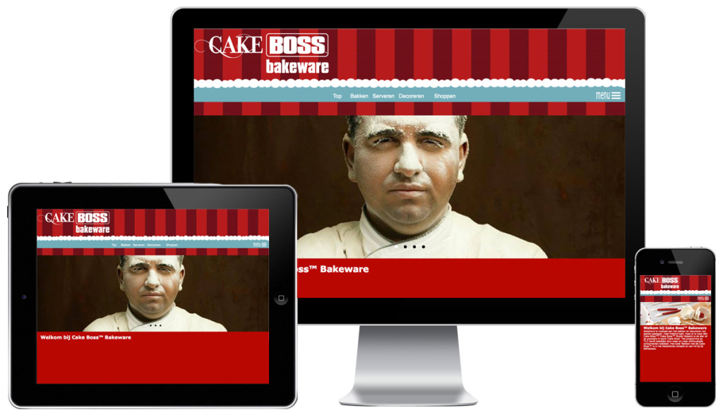 Cake Boss Bakeware website